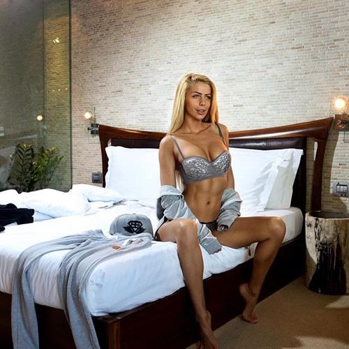 Yanita Yancheva in lingerie