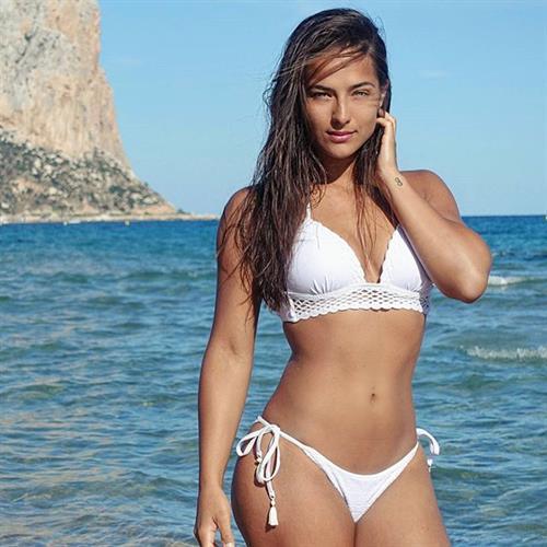 Nochtli Peralta Alvarez in a bikini
