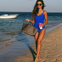 Pia Muehlenbeck in a bikini