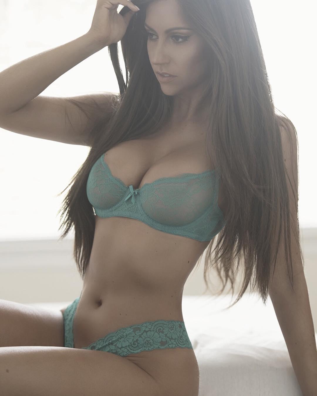 Jessica Rose Jones in lingerie