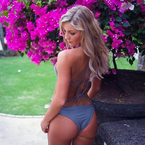 Hannah Polites in a bikini - ass