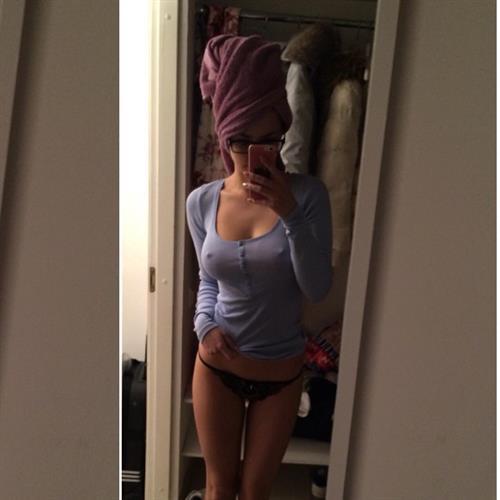 Helga Lovekaty taking a selfie