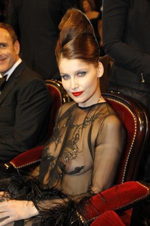 Laetitia Casta in lingerie - breasts