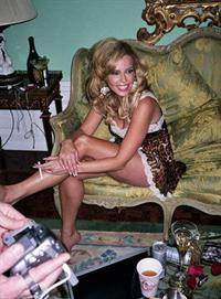 Chelsea Handler in lingerie