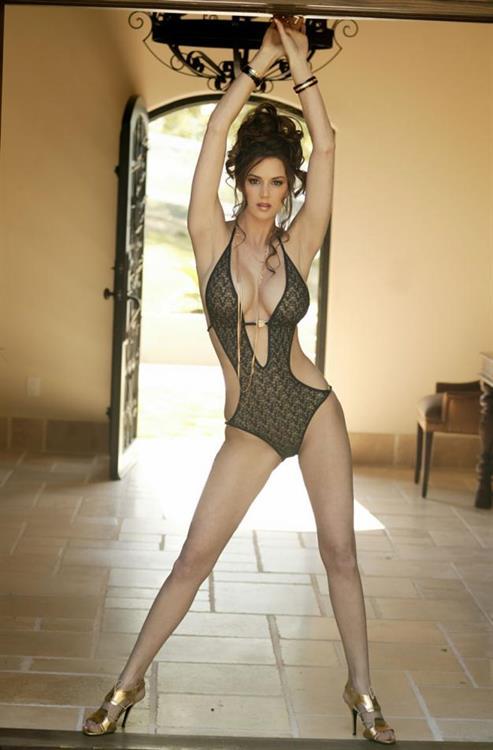 Tiffany Taylor in a bikini