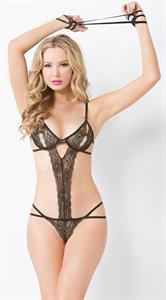 Tiffany Toth in lingerie
