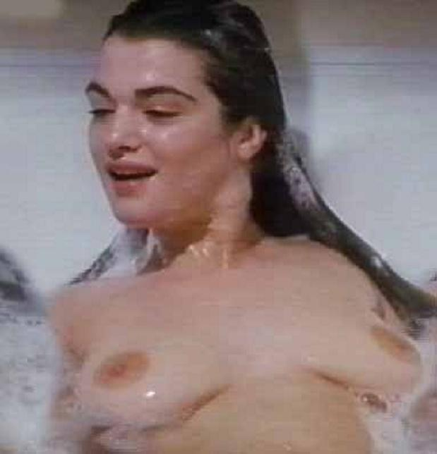 Right! Rachel weisz sex tits right! So