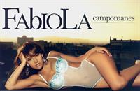Fabiola Campomanes in lingerie