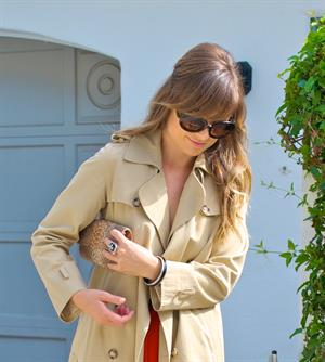Olivia Wilde leaving her house in Los Angeles October 24, 2011