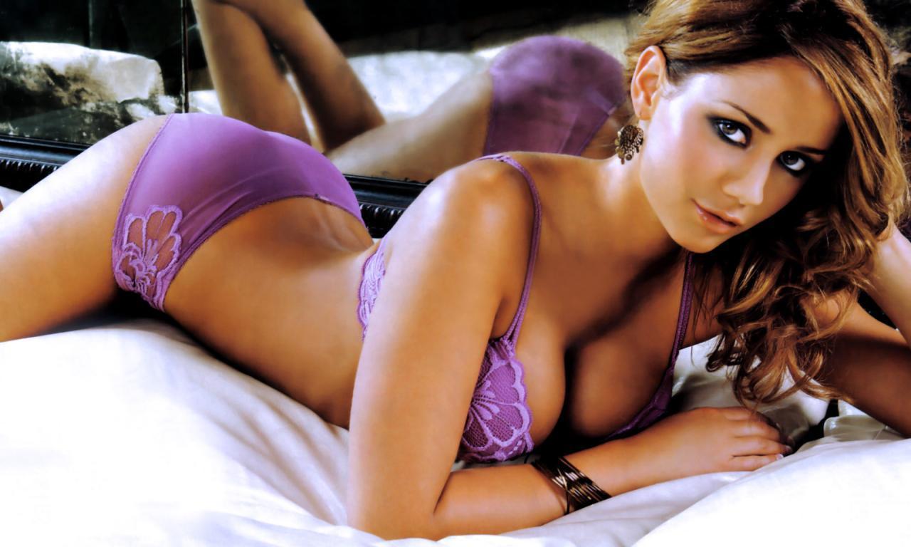 Krystal Forscutt in lingerie
