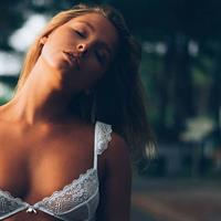 Marisa Papen in lingerie