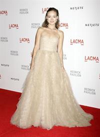 Olivia Wilde lacma presents The Unmasking of Resnick Pavilion Opening Gala September 25, 2010