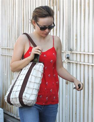 Olivia Wilde heading to lunch in west hollywood February 23, 2012