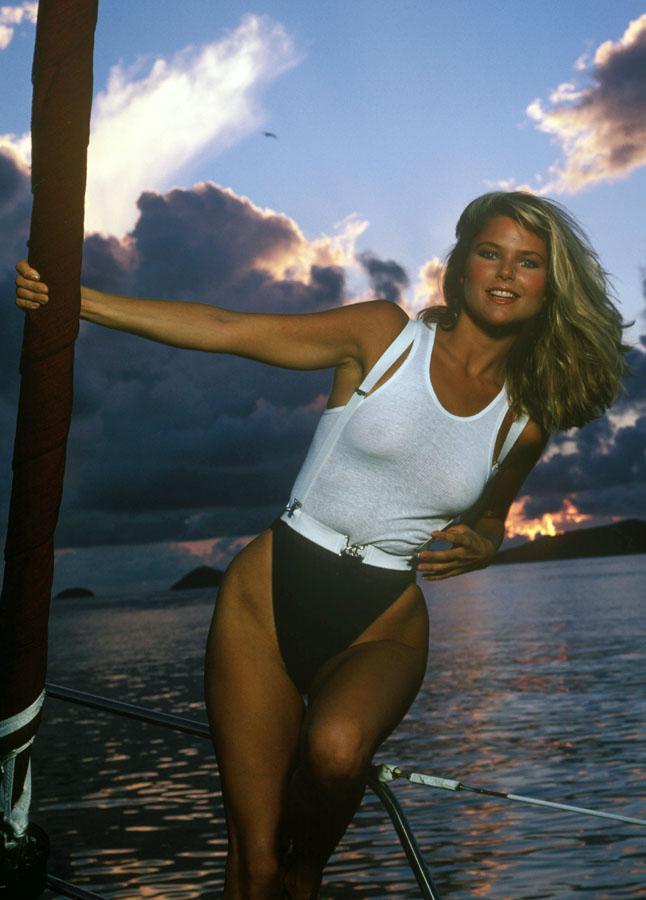 Christie brinkley nude sex video