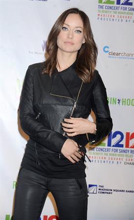 Olivia Wilde Hurricane Relief Concert in New York City - December 12, 2012