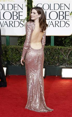 Anne Hathaway 68th Annual Golden Globe Awards December, 2011