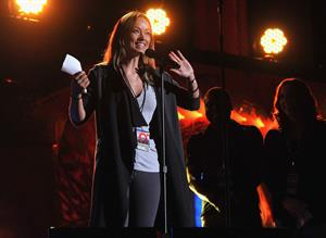 Olivia Wilde The Global Citizen Festival in Central Park to End extreme poverty on September 29, 2012