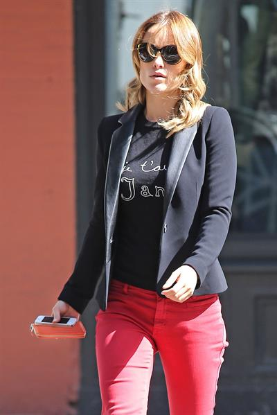 Olivia Wilde at Cafe Gitane in Nolita - September 24, 2012
