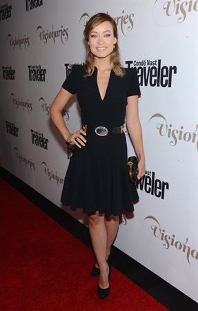 Olivia Wilde - Conde Nast Traveler Celebrates The Visionaries, NYC - 18.09.2012