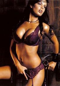 Siobhan Parekh in lingerie