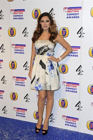 Kelly Brook British Comedy Awards in London December 12, 2012