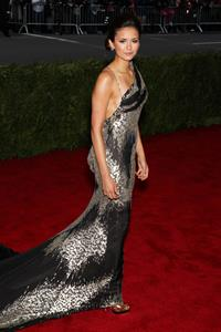 Nina Dobrev Metropolitan Museum of Arts Costume Institute Gala 07 05 12
