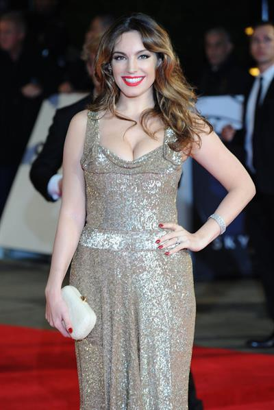 Kelly Brook 'Skyfall' premiere in London 10/23/12