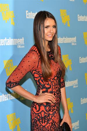 Nina Dobrev at Entertainment Weekly party at Comic Con July 14, 2012