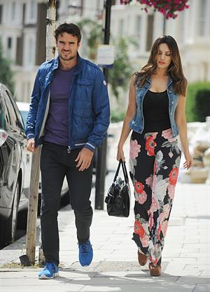 Kelly Brook walking in London - July 30, 2012