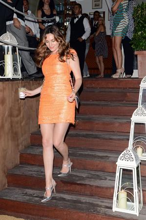 Kelly Brook at the Ischia Global Fest in Ischia, Italy 12th July 2012