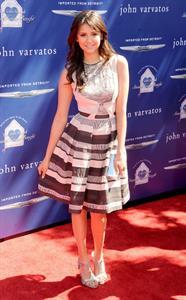 Nina Dobrev John Varvatos 10th Annual Stuart House Benefit in LA 3/10/13