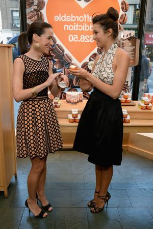 Nina Dobrev launches Origins' New Moisturizer in NYC 5/2/13