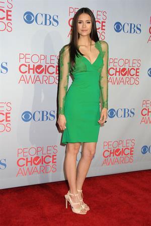 Nina Dobrev 2012 Peoples Choice Awards 11-01-12