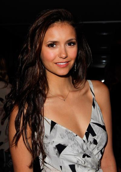 Nina Dobrev at the  30 Things Every Woman Should Have and Should Know by the Time She's 30  book launch April 16, 2012