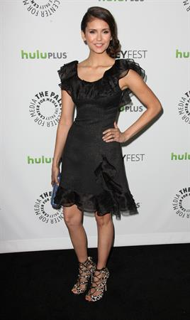 Nina Dobrev the Paley Center for Medias Paleyfest 2012 honoring the Vampire Diaries 10-3-2012