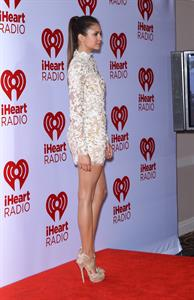 Nina Dobrev at IHeartRadio Music fest (day 2) in Las Vegas 9/22/12