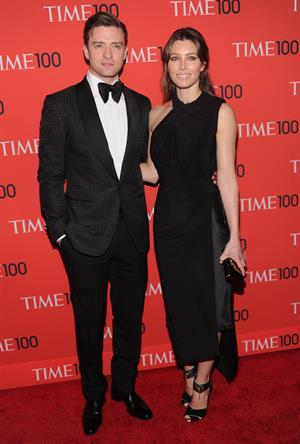 Jessica Biel Time 100 Gala in NYC 23.04.13