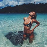 Alexis Ren in lingerie