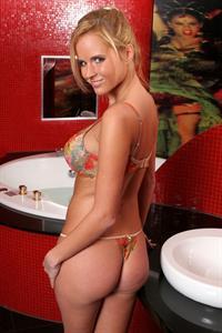 Zuzana Drabinova in a bikini