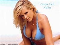 Gena Lee Nolin in a bikini