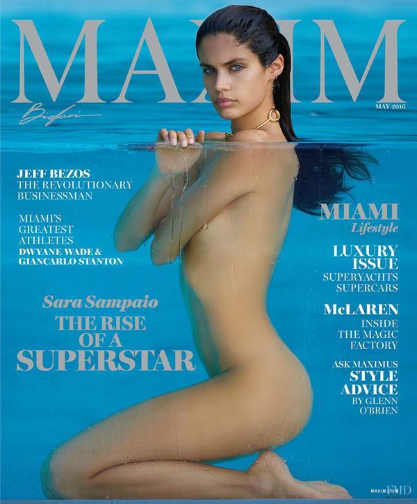 Sara Sampaio Maxim Cover