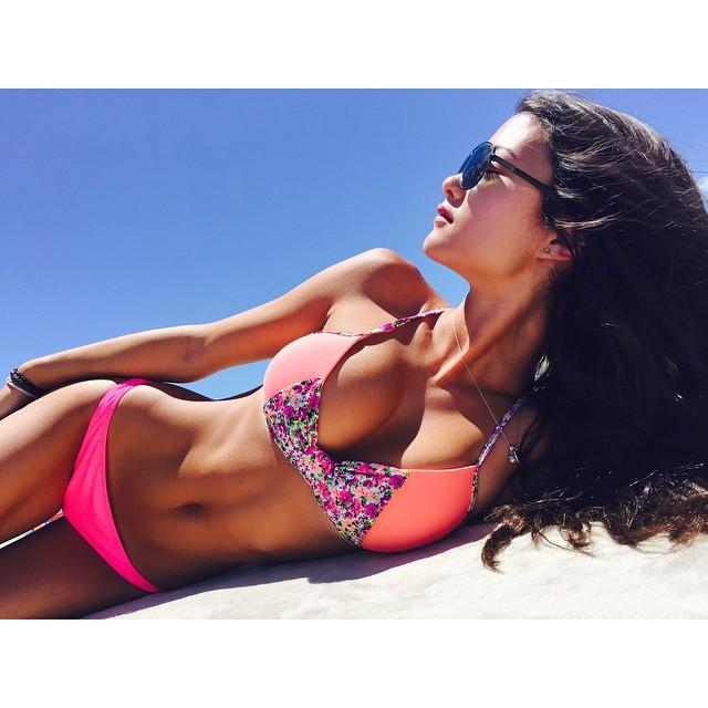 Keilah Kang in a bikini