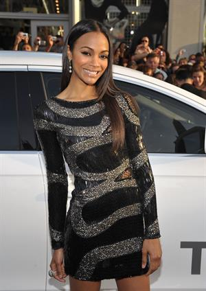 Zoe Saldana -  Star Trek  Los Angeles Premiere - Apr. 30, 2009