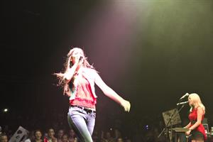 Victoria Justice video 2012 South Shore Music Circus 8/15/12