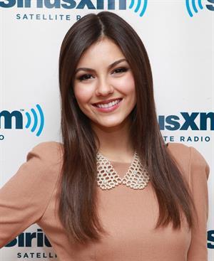Victoria Justice at Sirius XM Studio in NY 10/22/12