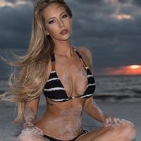 Amanda Taylor in a bikini