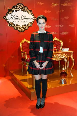 Katy Perry at the Killer Queen Fragrance Berlin Launch 9/25/13