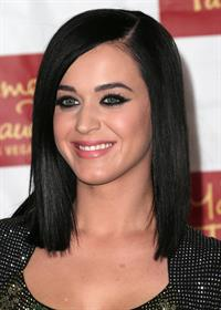Katy Perry unveils her wax figure at Madame Tussauds' Las Vegas in Hollywood January 26, 2013