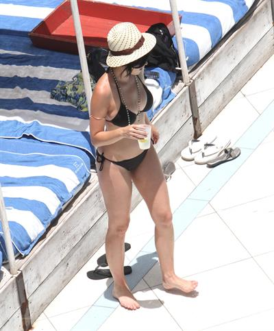 Katy Perry in a bikini in Miami July 26, 2012