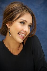 Jessica Alba Machete press conference portraits in Beverly Hills on August 27, 2010
